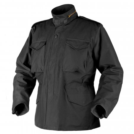 Helikon-Tex® US ARMY MILITARY M65 Jacket - Nyco Sateen - Black