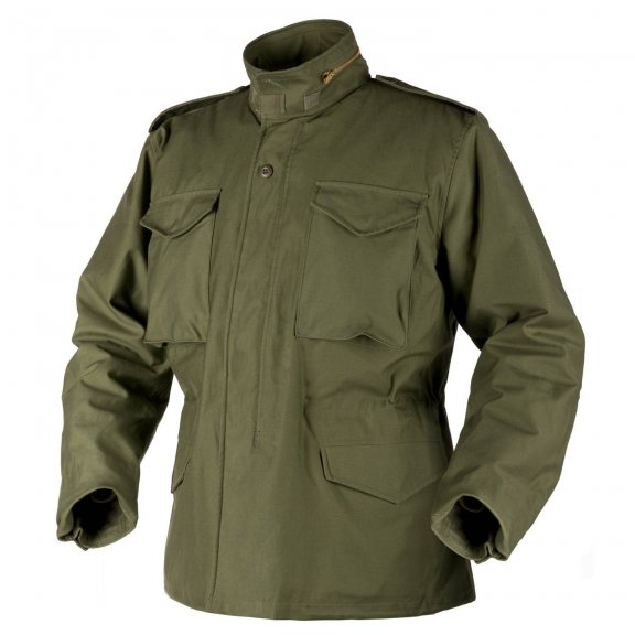 Helikon-Tex® US ARMY MILITARY M65 Jacket - Nyco Sateen - Olive Green