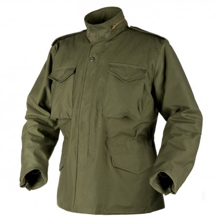 Helikon-Tex® Kurtka US ARMY MILITARY M65 - Nyco Sateen - Olive Green