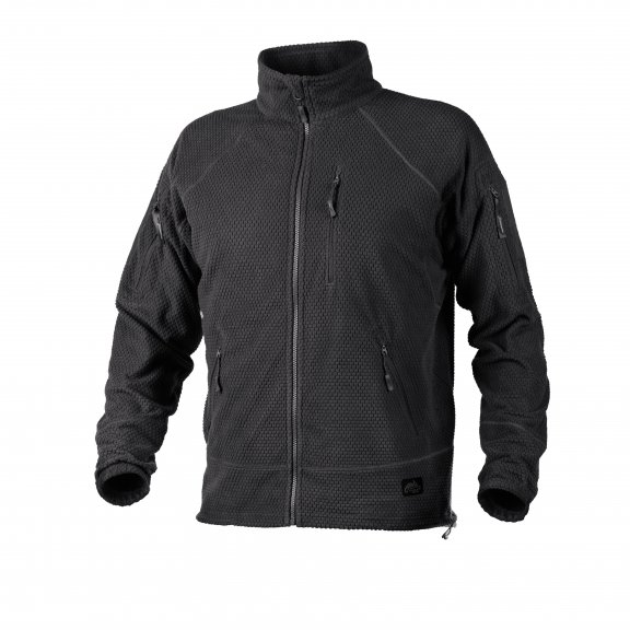 Helikon-Tex® Bluza ALPHA TACTICAL - Grid Fleece - Czarna