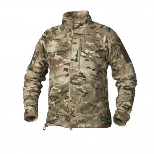 Helikon-Tex® ALPHA TACTICAL Jacke - Grid Fleece - Camogrom®