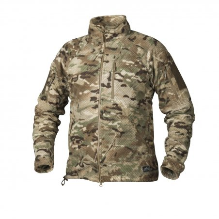 Helikon-Tex® Polar ALPHA TACTICAL - Grid Fleece - Camogrom®