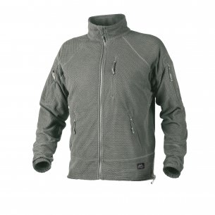 Helikon-Tex® ALPHA TACTICAL Jacket - Grid Fleece - Fogliame Verde