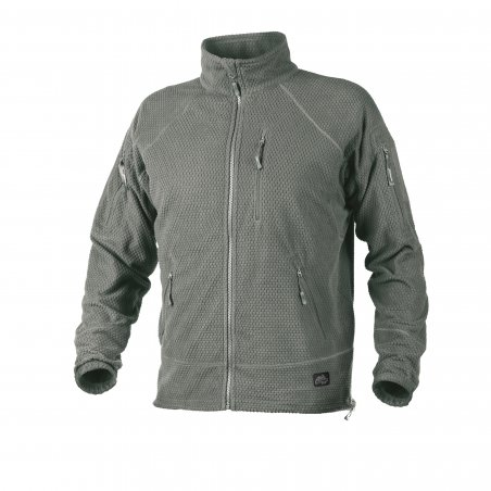 Helikon-Tex® ALPHA TACTICAL Jacket - Grid Fleece - Feuillage Vert