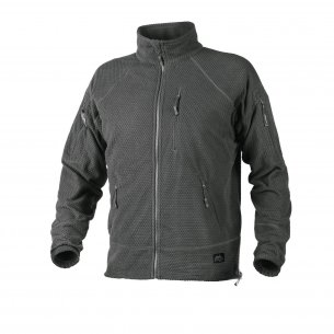 Helikon-Tex® ALPHA TACTICAL Jacke  - Gittervlies - Shadow Grey