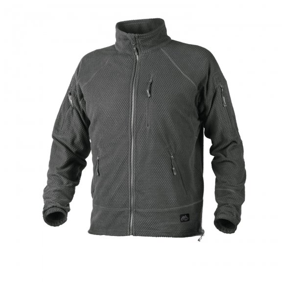 Bluza ALPHA TACTICAL - Grid Fleece - Shadow Grey