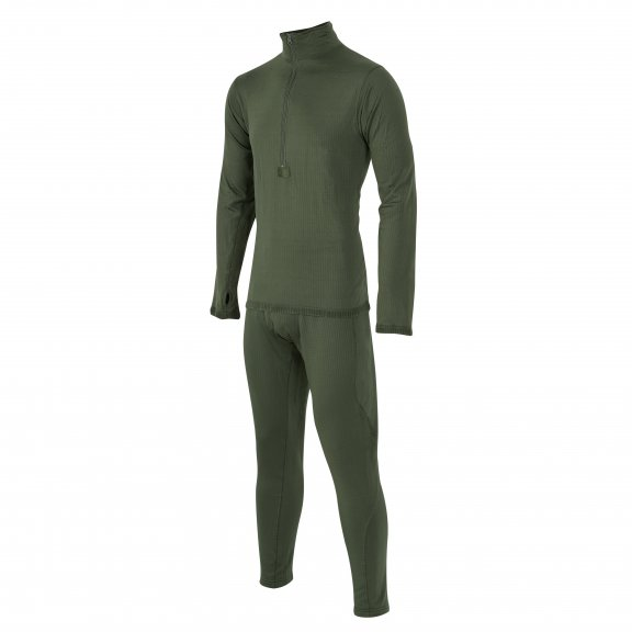 Helikon-Tex® Level 2 GEN III Thermal underwear - Set - Olive Green
