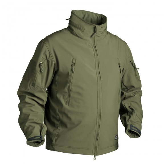 Helikon-Tex® GUNFIGHTER Jacket - Shark Skin - Olive Green