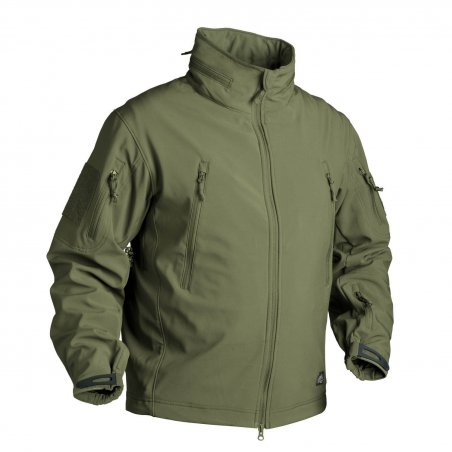 Helikon-Tex® GUNFIGHTER Jacke - Shark Skin - Olive Green