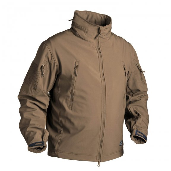Helikon-Tex® GUNFIGHTER Jacke - Shark Skin - Coyote / Tan