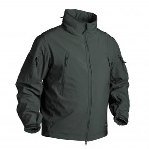 Helikon-Tex® GUNFIGHTER Jacket - Shark Skin - Jungle Green