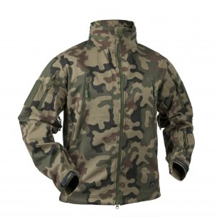 Helikon-Tex® GUNFIGHTER Jacke - Shark Skin - PL Woodland