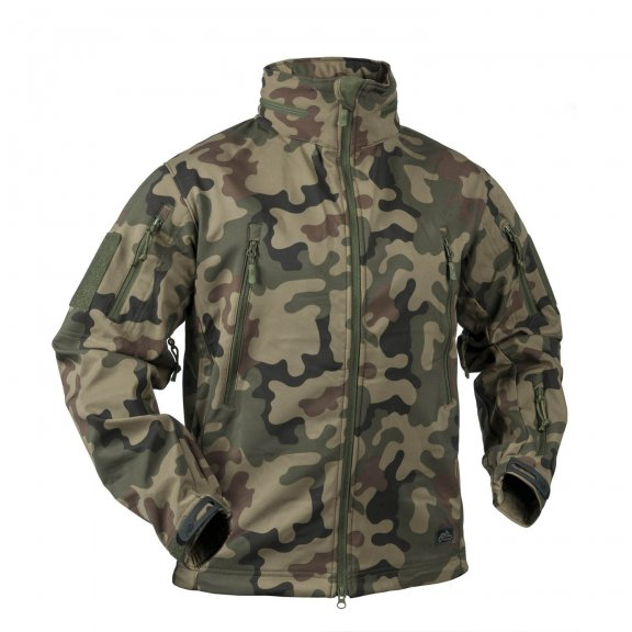 Helikon-Tex® GUNFIGHTER Jacket - Shark Skin - PL Woodland