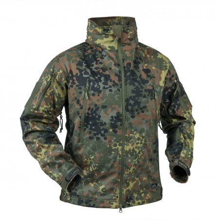 Helikon-Tex® GUNFIGHTER Jacket - Shark Skin - Flecktarn