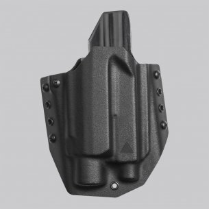 Direct Action® GLOCK 17 OWB LIGHT HOLSTER - Kydex - Schwarz