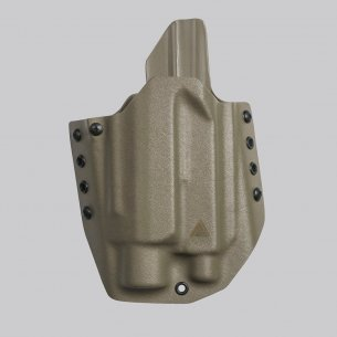 Direct Action® GLOCK 17 OWB LIGHT HOLSTER - Kydex - Flat Dark Earth
