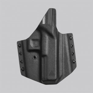 Direct Action® Kabura GLOCK 17 OWB NO LIGHT HOLSTER - Kydex - Czarny
