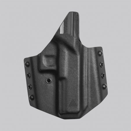 Direct Action® GLOCK 17 OWB NO LIGHT HOLSTER - Kydex - Black