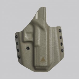 Direct Action® GLOCK 17 OWB NO LIGHT HOLSTER - Kydex - Flat Dark Earth