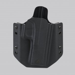 Direct Action® GLOCK 17 OWB NO LIGHT HOLSTER (straight loops) - Kydex - Nero