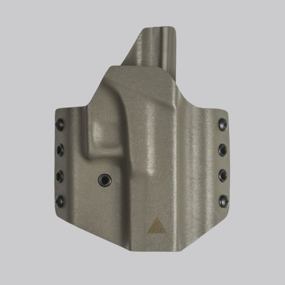 Direct Action® G17 OWB ZERO CANT NO LIGHT HOLSTER - Full Kydex - Flat Dark Earth