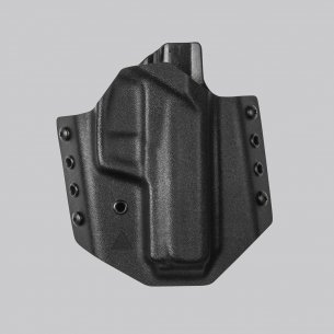 Direct Action® HK USP OWB NO LIGHT HOLSTER - Full Kydex - Black