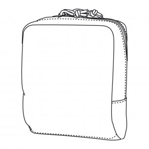 Direct Action® UTILITY POUCH LARGE® - Urban Grey