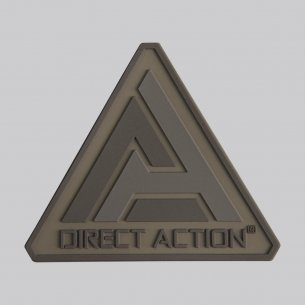 Direct Action® Naszywka Logo Patch - Coyote Brown