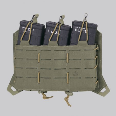 Direct Action® SPITFIRE® TRIPLE RIFLE MAGAZINE FLAP - Adaptive Green