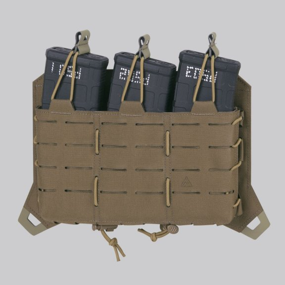 Direct Action® SPITFIRE® TRIPLE RIFLE MAGAZINE FLAP - Coyote Brown