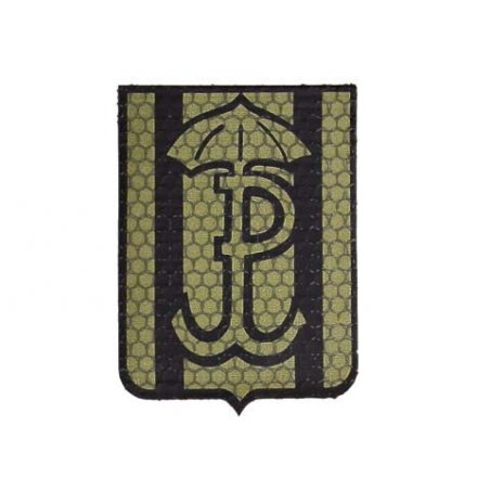 Combat-ID Velcro patch - Silent and efficient (H6-OD) - Olive Drab - JWK Lubliniec