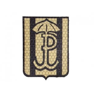 Combat-ID Velcro patch - Silent and efficient (H6-TAN) - Desert - JWK Lubliniec