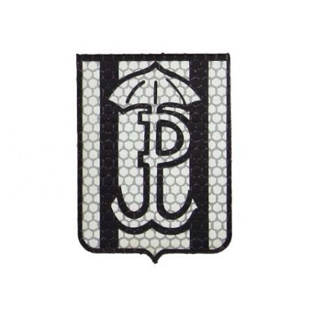 Combat-ID Velcro patch - Silent and efficient (H6-GY) - Grey - JWK Lubliniec