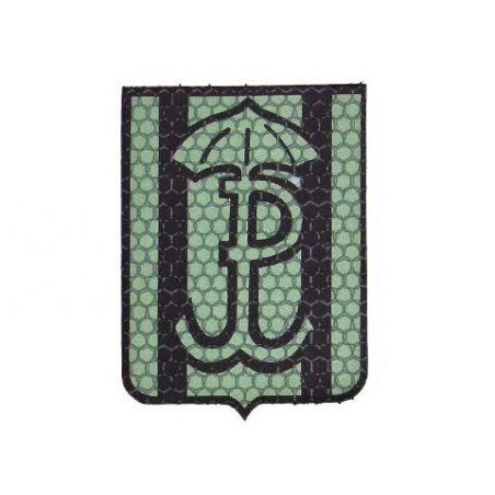 Combat-ID Velcro patch - Silent and efficient (H6-GR) - Olive Green - JWK Lubliniec