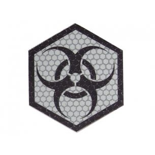 Combat-ID Velcro patch - Biohazard (BIO-FG) - Foliage Green