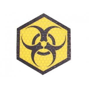 Combat-ID Velcro patch - Biohazard (BIO-YEL) - Yellow