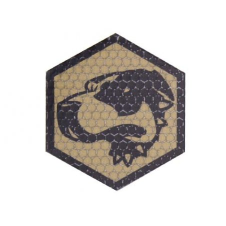 Combat-ID Velcro patch - Bloodhound (BH-CT) - Coyote / Tan