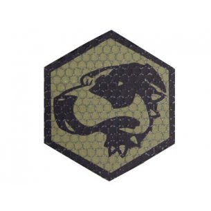 Combat-ID Velcro patch - Bloodhound (BH-OD) - Olive Drab
