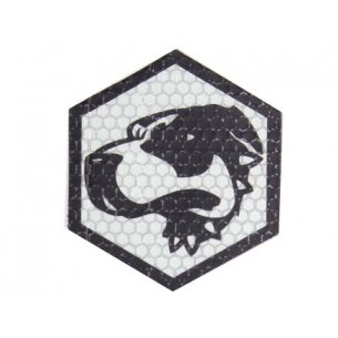 Combat-ID Velcro patch - Bloodhound (BH-GY) - Grey