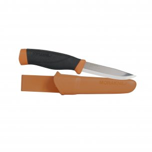 Knife Morakniv® Companion HeavyDuty Burnt Orange (S)