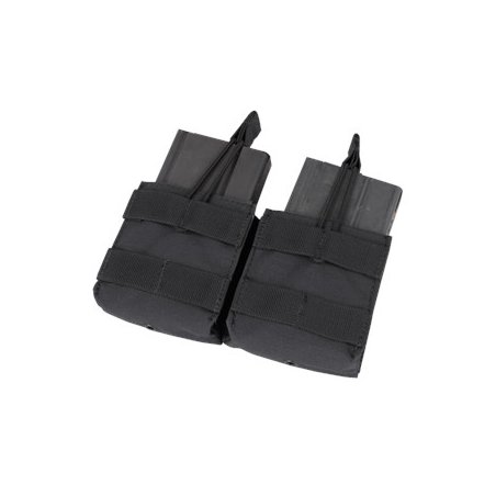 Double Open-Top M14 Mag Pouch (MA24-002) - Black