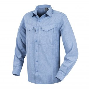 Helikon-Tex® DEFENDER Mk2 Gentleman Shirt® - Melange Light Blau