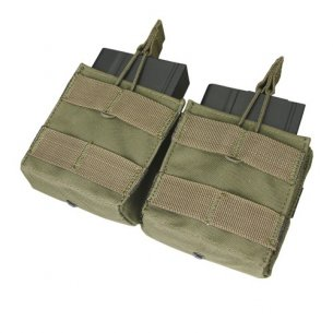 Condor® Double Open-Top M14 Mag Pouch (MA24-001) - Olive Green