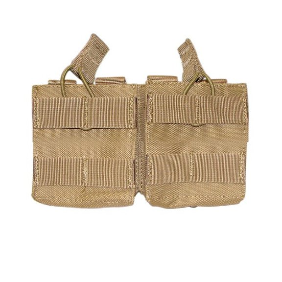 Condor® Double Open-Top M14 Mag Pouch (MA24-003) - Coyote / Tan
