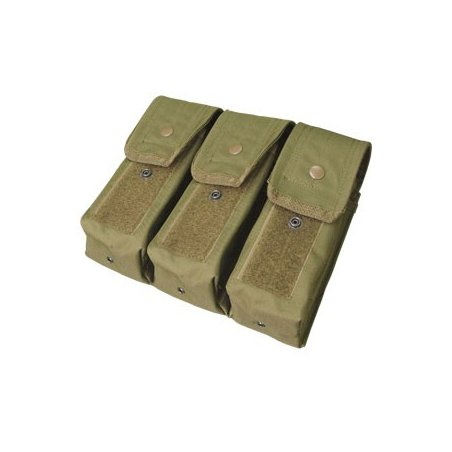 Ładownica molle Triple AR/AK Mag Pouch (MA33-001) - Olive Green