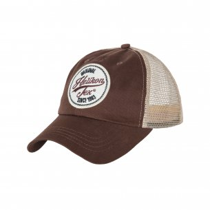 Helikon-Tex® Trucker Logo Kappe - Cotton Twill - Mud Brown