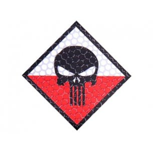 Combat-ID Velcro patch - Skull (H4-FC) - Full Color