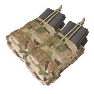 Ładownica molle Double Stacker M4 Mag Pouch (MA43-008) - Multicam®