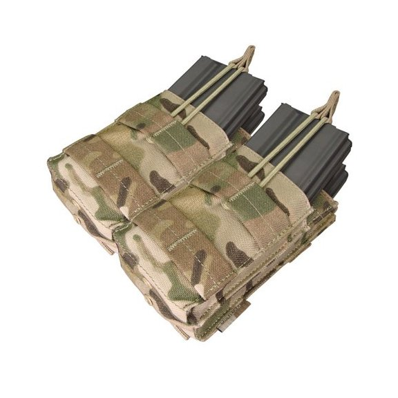 Condor® Ładownica molle Double Stacker M4 Mag Pouch (MA43-008) - Multicam®