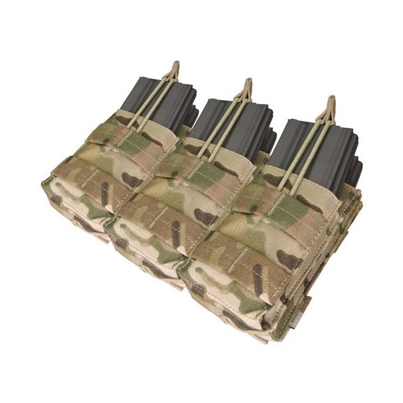 Condor® Ładownica molle Triple Stacker M4 Mag Pouch (MA44-008) - Multicam®